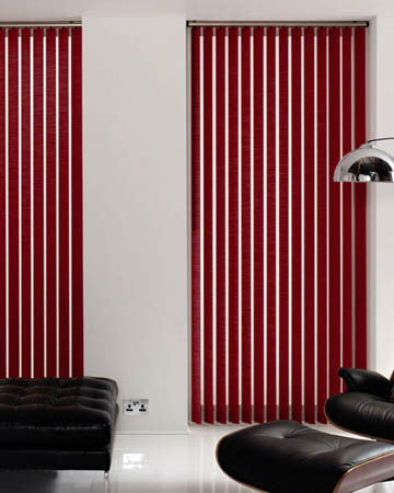 Eclipse Atlantex Cherry Vertical Blinds