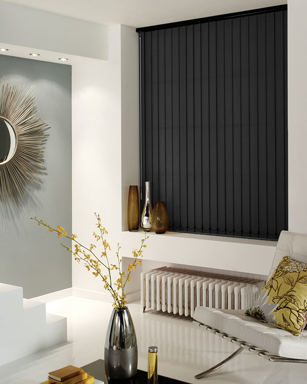 Eclipse Banlight Duo Fr Black Blackout Vertical Blinds