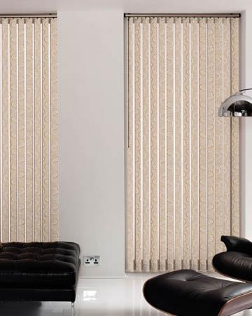 Brown Vertical Window Blinds Blinds Uk