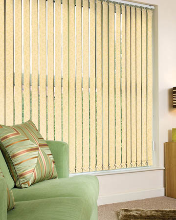 Yellow Vertical Blinds Blinds Uk
