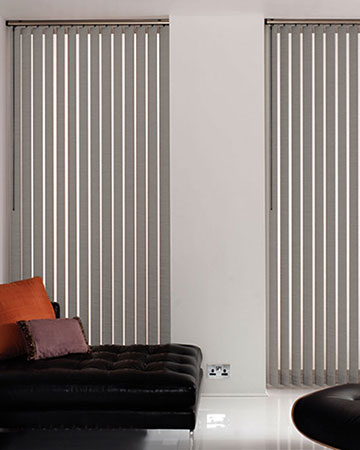 Louvolite Basix Steel Vertical Blinds