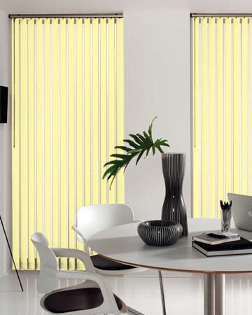 Louvolite Carnival Blackout Cream Vertical Blinds