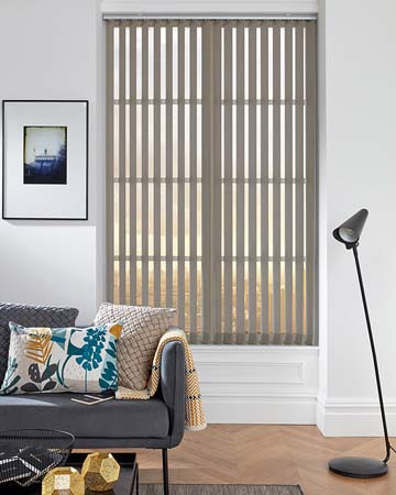 Louvolite Carnival Blackout Luna Vertical Blinds