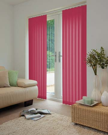 Louvolite Carnival Coulis Vertical Blinds