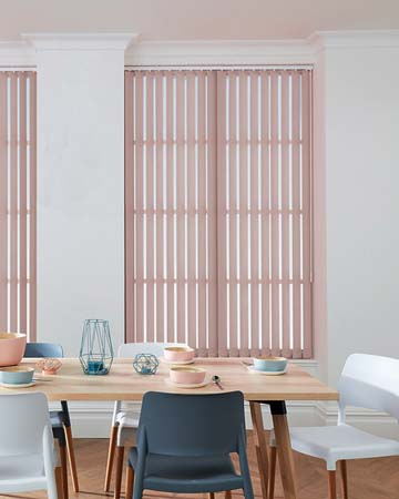 Louvolite Carnival Heather Vertical Blinds