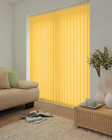 Yellow Vertical Blinds Blinds Uk