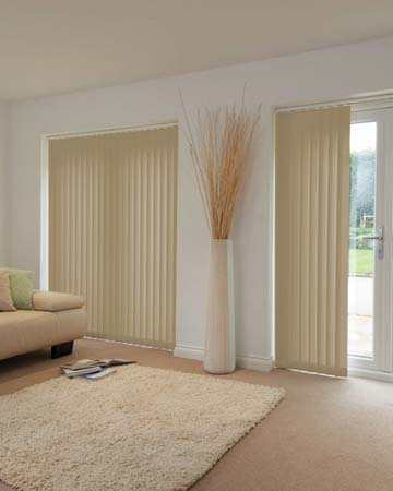 Louvolite Mineral Antique Gold Vertical Blinds