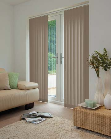 Louvolite Oslo Birch Vertical Blinds