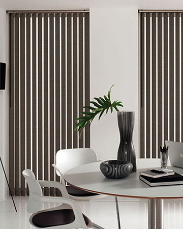 Louvolite Oslo Hazel Vertical Blinds