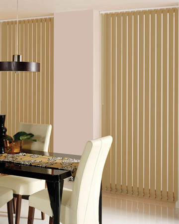 Prima Cafe Latte Vertical Blinds