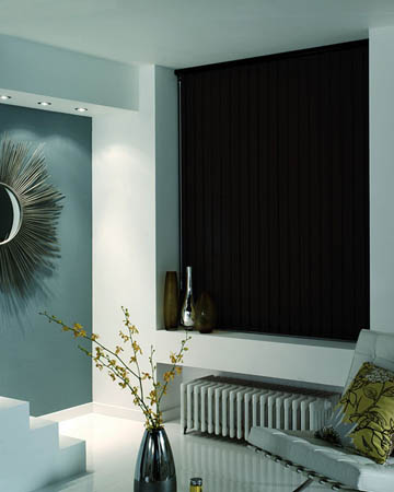 Prima Chocolate Vertical Blinds