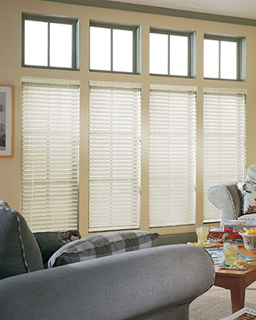 SLX Alabaster Wooden Blinds