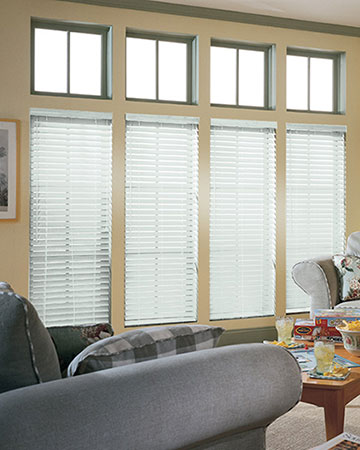 SLX Frost Wooden Blinds