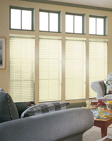 SLX Ivory Wooden Blinds