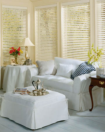 Styleline Express Plus Oyster Wooden Blinds