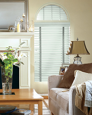 Pale Mint Wooden Blinds
