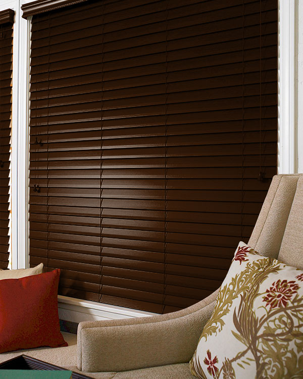 Prestige Walnut Wooden Blinds